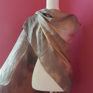 Accessories - Large Silk Scarf
